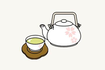 湯茶のイメージ図