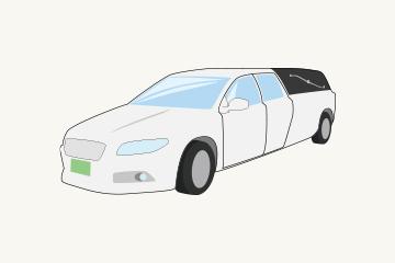 寝台車のイメージ図
