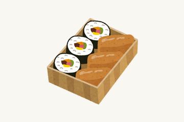 助六寿司のイメージ図